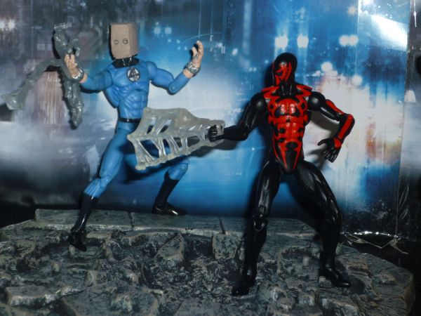how to make a paper spider man action figure